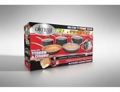 55% off Gotham Steel 10-Pc Nonstick Cookware Set