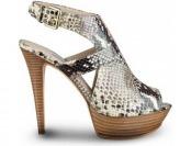 75% off Guess Ofiray Printed Platform Heels