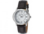 87% off Lucien Piccard Dalida Leather White MOP Watch