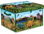 42% off ZipBin 160 Dinosaur Collector Toy Box & Playset