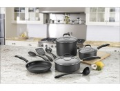 $100 off Cuisinart Pro Classic 11-Piece Cookware Set - Black