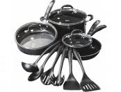 50% off Cuisinart Pro Classic 13-Piece Aluminum Cookware Set
