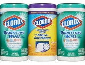 21% off Clorox Disinfecting Wipes with Micro Scrubbers Value Pack