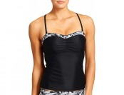73% off Athleta Womens Belharra Bandeau Tankini