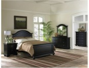 53% off Addison Black Bedroom Set - King - 6 pc.