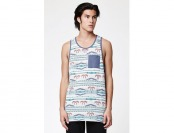 56% off Rome Tribal Pocket Tank Top