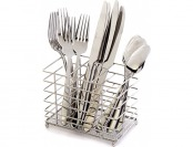 75% off Oneida Eve 12pc. Flatware Set & Caddy