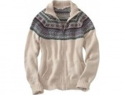 90% off Women's Carhartt Folk Pattern Cardigan Sweater