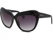 80% off Diesel Women's Fashion Black Sunglasses