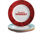 50% off Cake Boss Serveware 4-Pc Dessert Plate Set