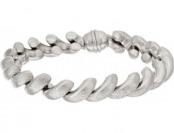 "62% off Vicenza Silver Sterling 7-1/4"" Satin San Marco Bracelet"