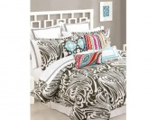 93% off Trina Turk Seafoam Duvet Collection