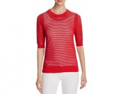 82% off Dkny Sheer Mesh Sweater