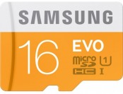 53% off Samsung 16GB EVO microSDHC Memory Card