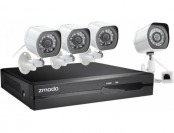 50% off Zmodo 4-Camera Indoor / Outdoor HD NVR Security System