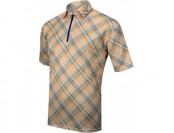 57% off Alexander Julian Argyle Plaid Short Sleeve Cycling Jersey