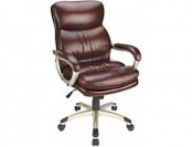 72% off Realspace Broward Faux Leather High-Back Chair