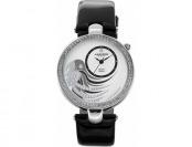 85% off Akribos Xxiv Women's Fiora Diamond & Crystal Leather Watch