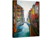 "98% off Venice Grand Canale Gallery Wrapped Canvas Artwork, 32""x26"""