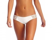 65% off Vitamin A Amber Boyshort Bikini Bottom