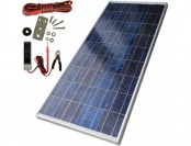77% off Sharp Electronics 123W Polycrystalline Solar Panel