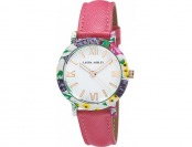 93% off Ladies Laura Ashley Color Stitch Watch - LA3100PK