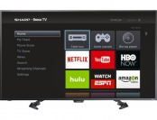 "$80 off Sharp 50"" LED 1080p Smart HDTV Roku TV LC-50LB481U"