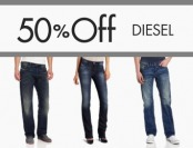 50% off Diesel Jeans, Shoes, and Clothing for Men & Women
