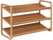 66% off Honey Can Do 3-Tier Bamboo Shoe Shelf