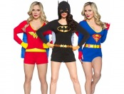43% off Superheroine Ladies' Caped Rompers