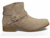 60% off Teva Women's W Delavina Suede Ankle Boots
