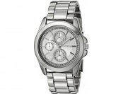 94% off Geneva Women's Analog Quartz Silver Watch FMDJM121