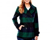 80% off St. John's Bay Wool-Blend Pea Coat