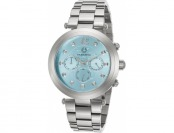 92% off Cabochon Papillon Multi-Function Turquoise Dial SS Watch