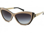 71% off Michael Kors Women's Caneel Cat Eye Beige Sunglasses