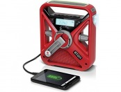 55% off Hand Crank NOAA AM/FM Weather Radio Smartphone Charger