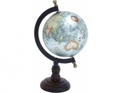 90% off Beautiful Metal Wood Globe with Wooden Axis