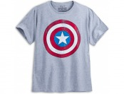 74% off Captain America Shield Tee for Men - Plus Size