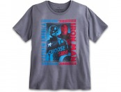 74% off Captain America and Iron Man Tee for Adults - Plus Size