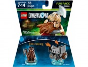25% off LEGO Dimensions Fun Pack (The Lord of the Rings: Gimli)