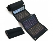 58% off Powerfilm USB + AA Solar Battery Charger