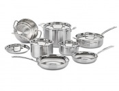 70% off Cuisinart MCP-12N MultiClad Pro 12-Pc Cookware Set