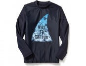 81% off Old Navy Long Sleeve Graphic Rashguard