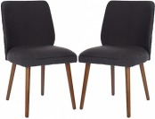 61% off Ethel Linen Dining Chair (Set Of 2)
