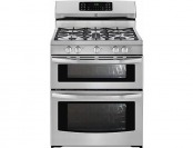 $570 off Kenmore 78143 Double-Oven Gas Range Stainless Steel