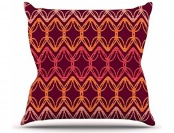 "88% off Kess InHouse Suzie Tremel ""Rick Rack"" Throw Pillow"