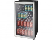 $70 off Insignia 115-Can Beverage Cooler - Stainless Steel/Black