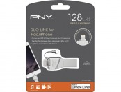 $30 off PNY Duo-Link On-the-Go 128GB USB 3.0 / Lightning Drive