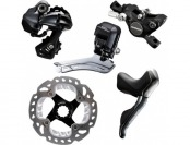 60% off Shimano Rs785/Ultegra 6870 Di2 11-Speed Road Bike Kit