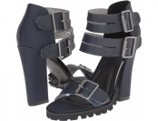 85% off Michael Antonio Lanster (Navy) Women's Dress Sandals